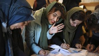 Fluidità nell'Iran dopo elezioni